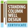 Emblem standing column